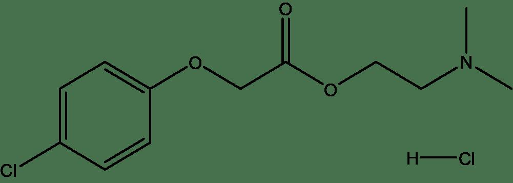 Centrophenoxine HCl, ≥98%