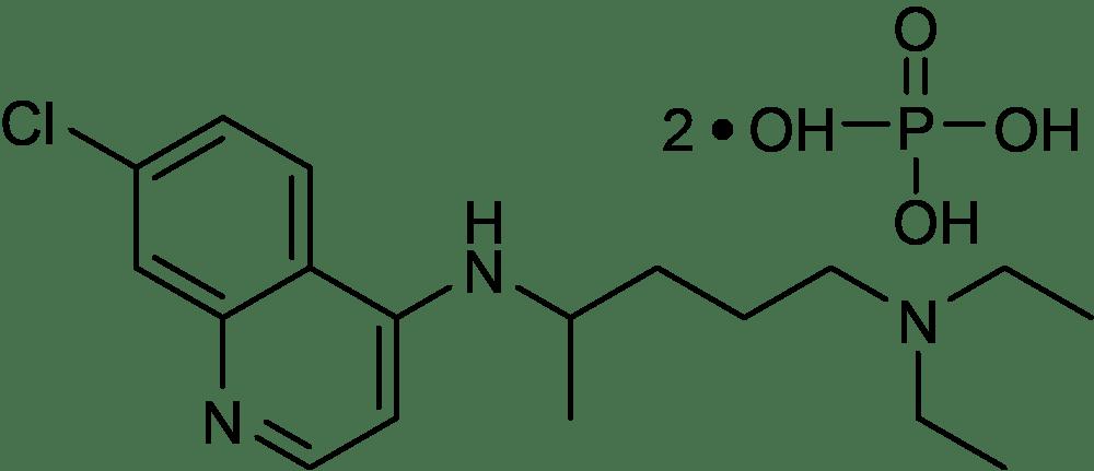 Chloroquine Phosphate, ≥99%